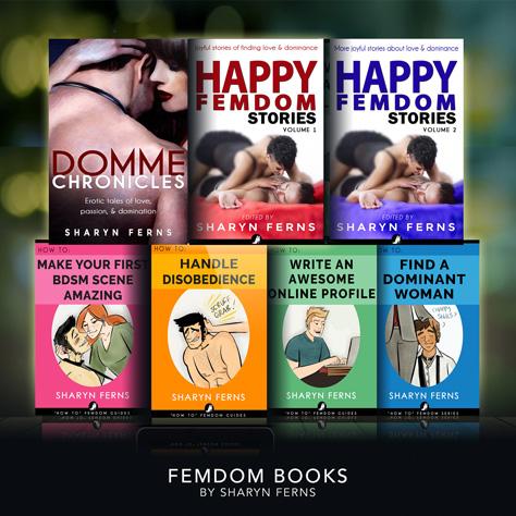 Femdom books by Sharyn Ferns